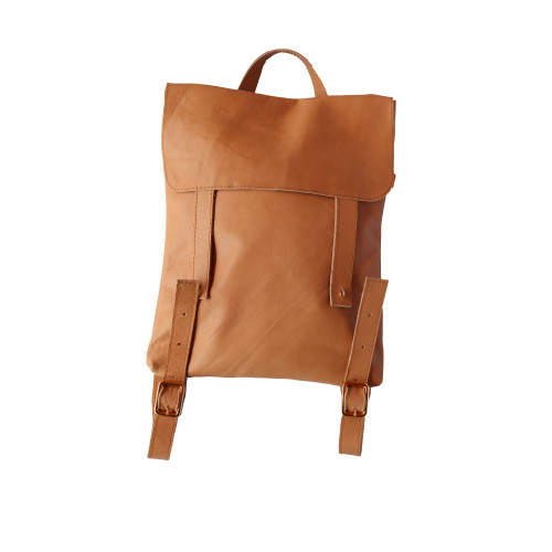 natural backpack front